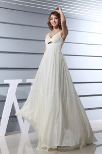 Spaghetti Straps Empire Long Prom Homecoming Dress Made in Annapolis