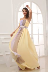 Strapless Multi Color Ruched Homecoming Long Dresses Made in Helena