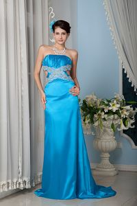 Unique Cut Outs Teal Sheath Graceful Homecoming Dress in Annapolis