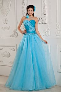Special Appliqued Strapless Tulle Dresses for Homecoming Made in Helena