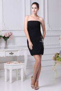 2013 Newest Beaded Strapless Casual Homecoming Dress Made in Florida