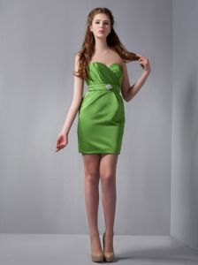 Green Sweetheart Mini-length Designer Homecoming Dresses in Laguna Niguel