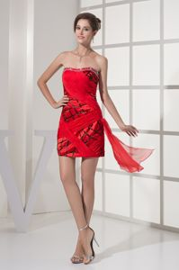 Most Popular Red Mini Homecoming Cocktail Dress Patterns in Freeport USA