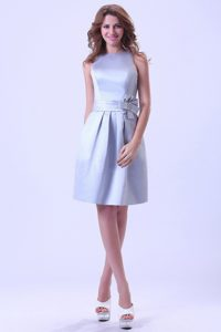 Bateau Neck Lilac Short Party Dress for Homecoming in The Mainstream