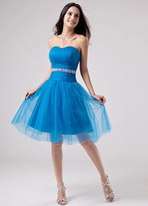 Novato Sweetheart Beaded Strapless Homecoming Dress For Juniors