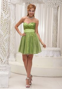 Sweetheart Cute Homecoming Dress in Shinning Fabric and Tulle Fresno