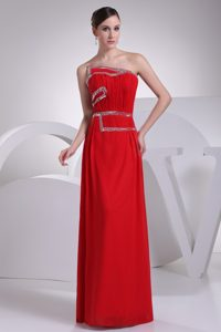 Red Asymmetrical Neckline Inexpensive Homecoming Dresses in Nevada