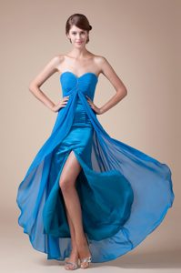 Sweetheart Elegant Ankle-length Empire Homecoming Dress in Wyoming